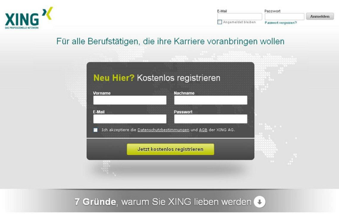 Xing das akquise business netzwerk for Business netzwerk